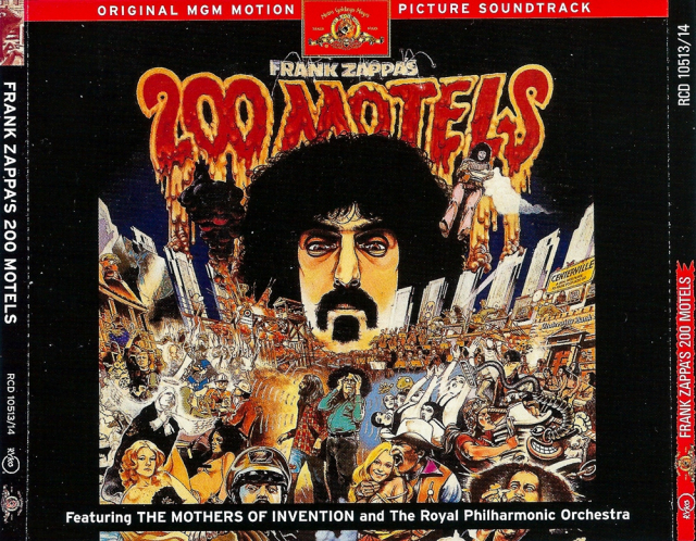 Frank Zappa feat. The Mothers of Invention & The Royal Philharmonic Orchestra: 200 Motels